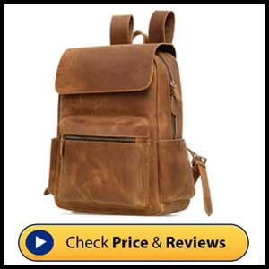 Jack&Chris Genuine Leather Backpack