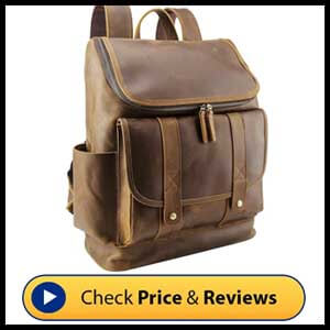 Polare Rustic Full Grain Leather Backpack