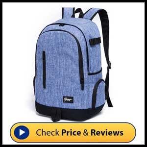 Ricky-H Lifestyle College School Backpack