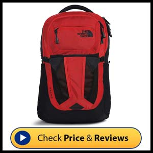 """North Face Recon Backpack – 15"""" Laptop Sleeve"""