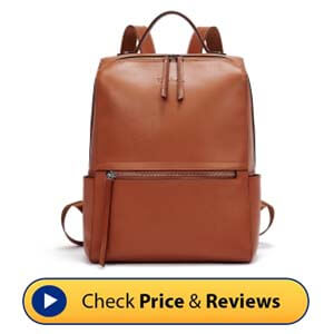 Bostanten Genuine Leather Backpack