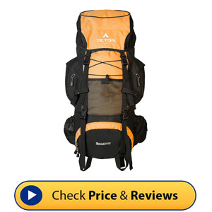 TETON Sports Scout 3400 Internal Frame Backpack – High Performance Backpack