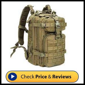 WolfWarriorX Small Tactical Military Assault Pack