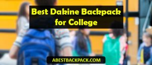 Best Dakine Backpack for College