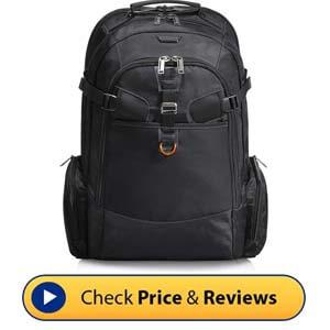EVERKI Business 120 Travel-Friendly Laptop Backpack