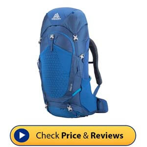 Gregory Mountain Products Zulu 55L Men's Hiking Backpack