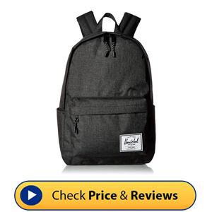 Herschel Classic Backpack Black Crosshatch - Perfectly Tailored To Fit Your Style