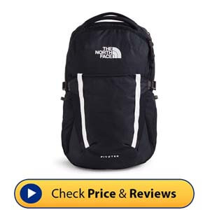 The North Face Pivoter School Laptop Backpack - Flex Vent Technology